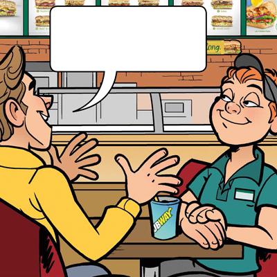 Subway Comic