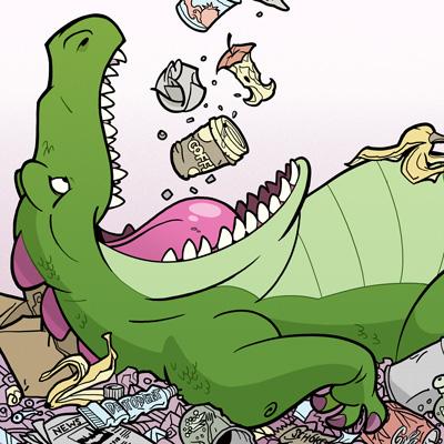 Müllmonster