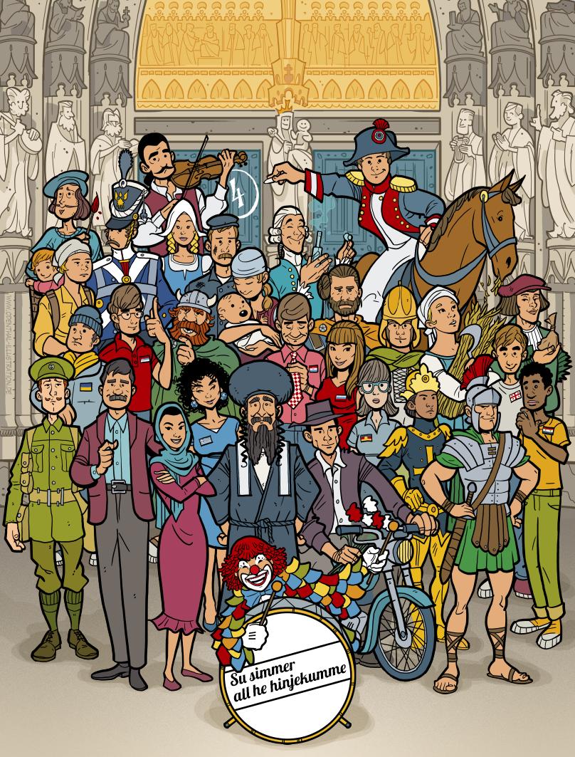 Illustration Birlikte, Illustrator: Odenthal