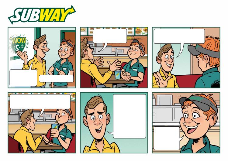 Comic: Subway, Comiczeichner Odenthal