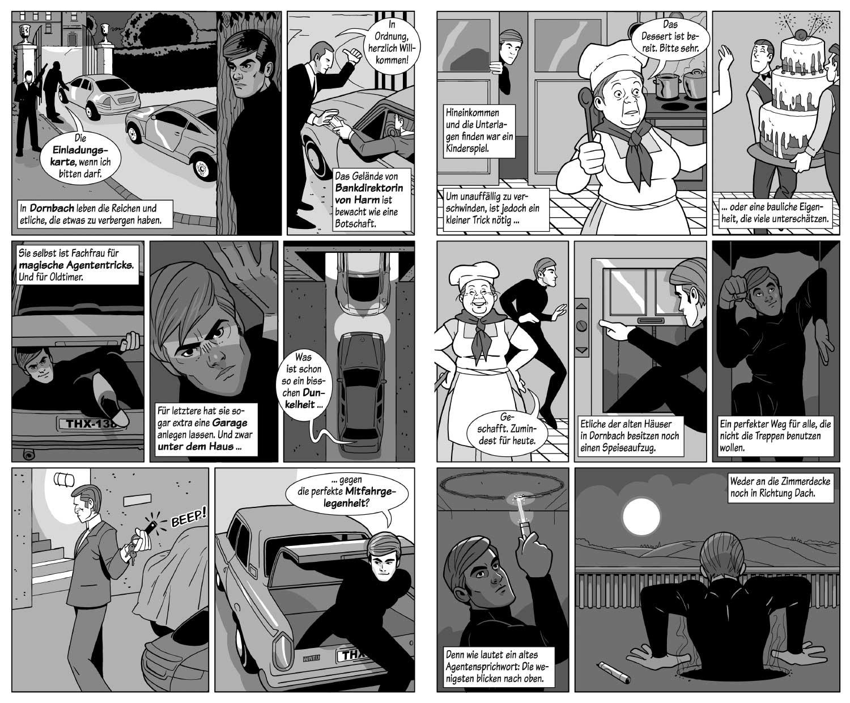 Bang! Comic, Zeichner Odenthal