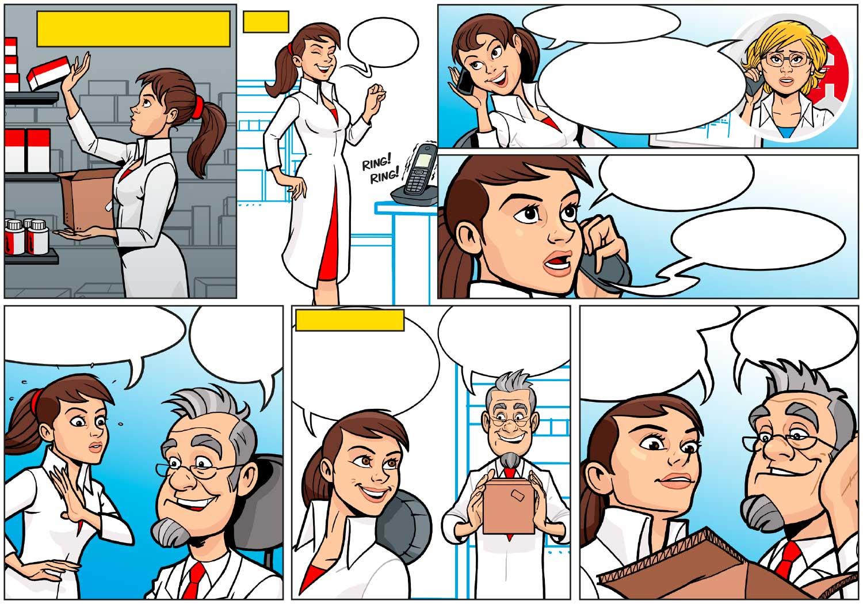 Comic, Zeichner: Odenthal